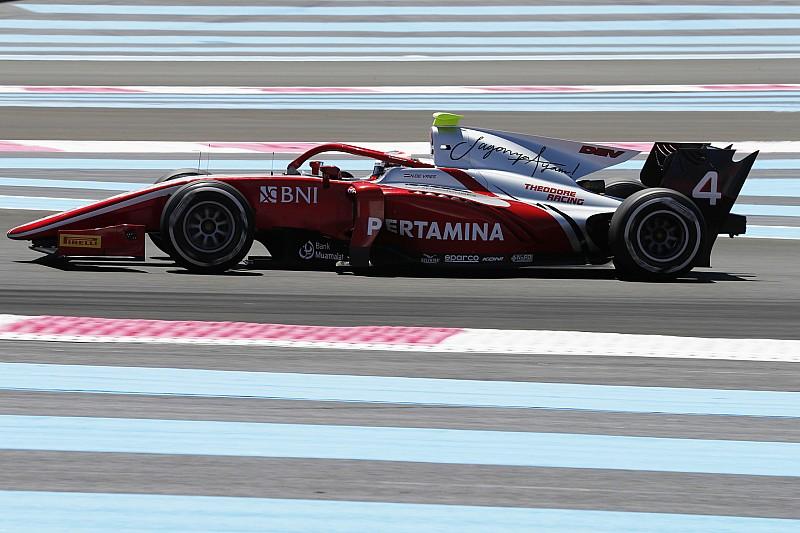 De Vries vuelve a saborear la victoria en F2 en Paul Ricard