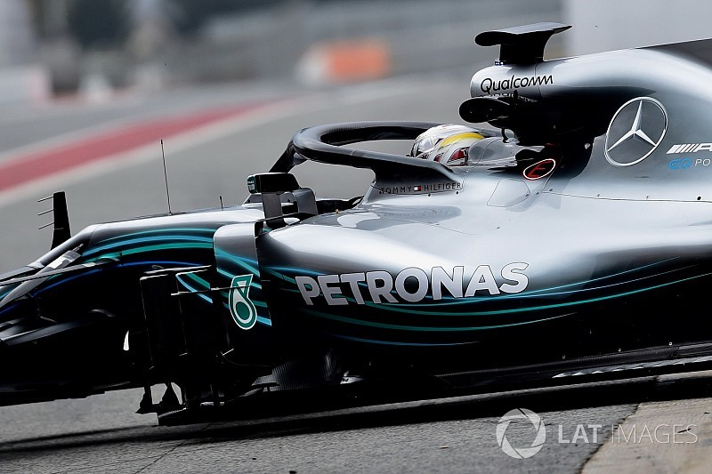 Video: Mercedes says bold new sidepod design worth 0.25s