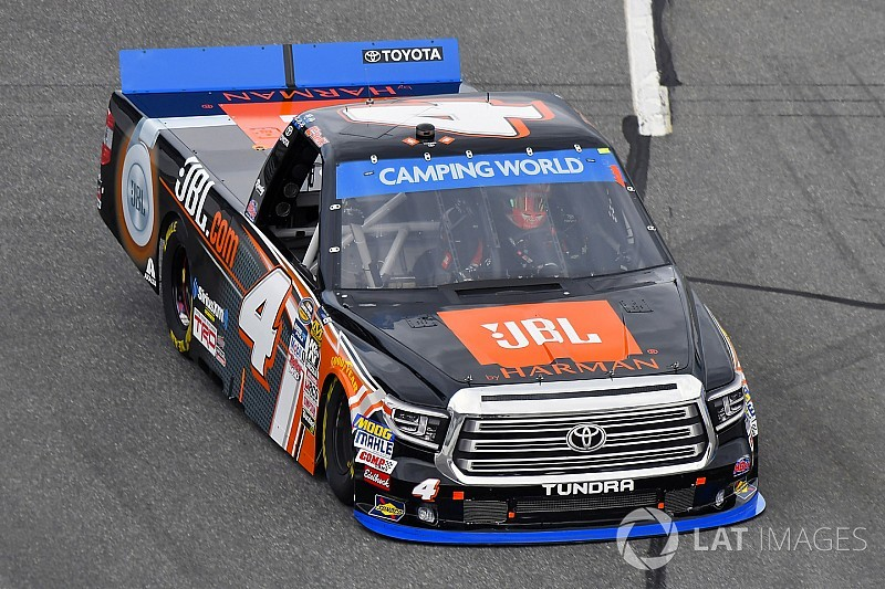 Christopher Bell ist NASCAR Truck-Champion 2017