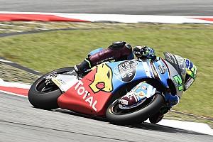 Moto2 Kwalificatieverslag Morbidelli pakt de pole op Sepang, zware crash titelrivaal Luthi