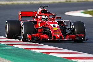 F1 测试报告 第二轮季前测试第三日上午:维特尔再刷巴塞罗那最快单圈