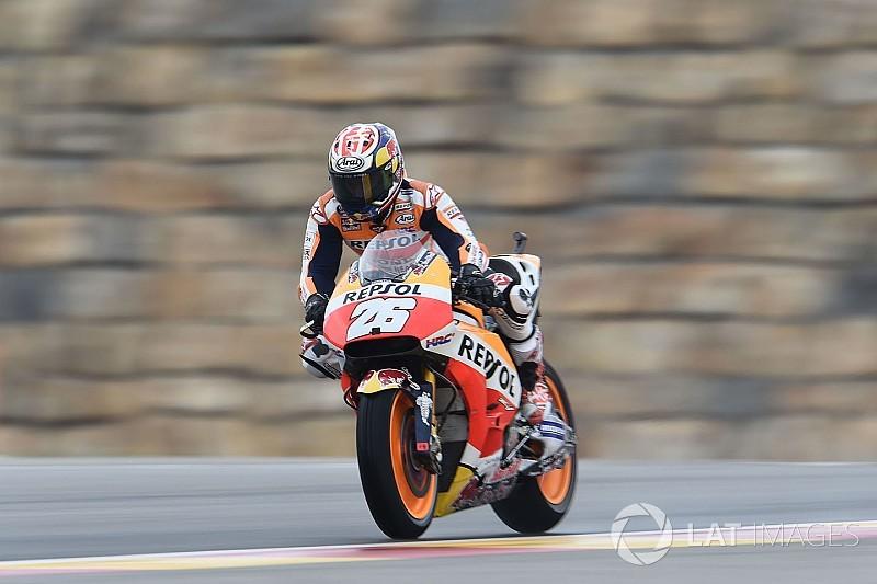 MotoGPアラゴン初日:ホンダのマルケス・ペドロサがそれぞれ首位