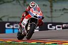 Lorenzo első éve eddig csúnya bukás a Ducatinál