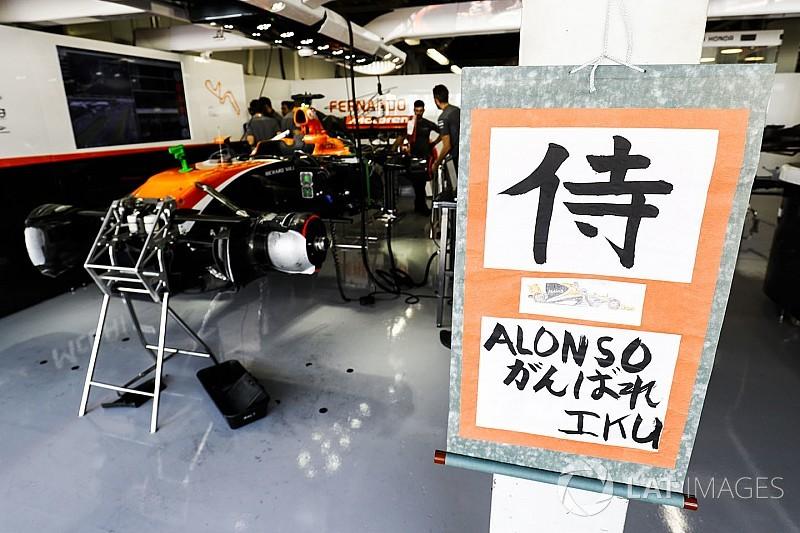 Alonso megrovást és két büntetőpontot kapott a kék zászlóért
