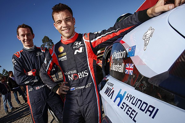 Hyundai: Kennard si ritira. Marshall copilota di Paddon a tempo pieno