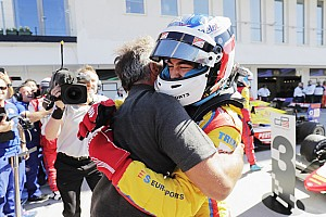 GP3 Race report Hungary GP3: Alesi leads Trident 1-2-3-4, disaster for ART