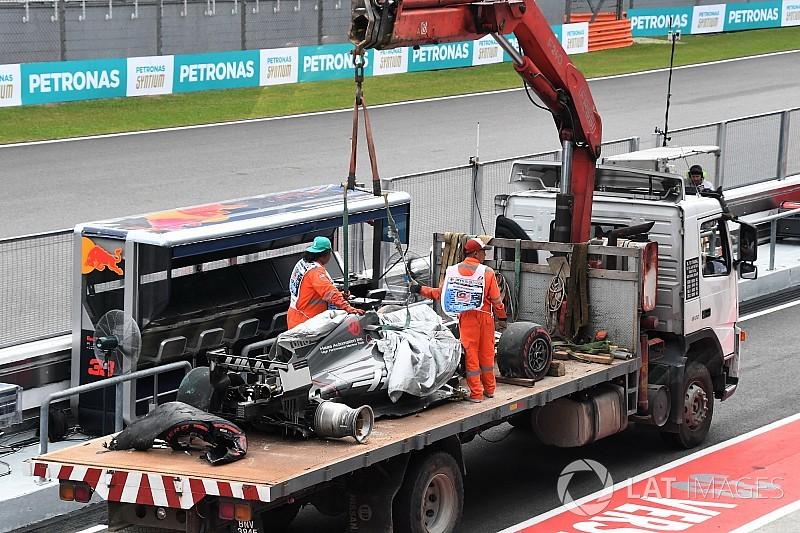 Derrière Grosjean, Massa a repensé à la Hongrie 2009