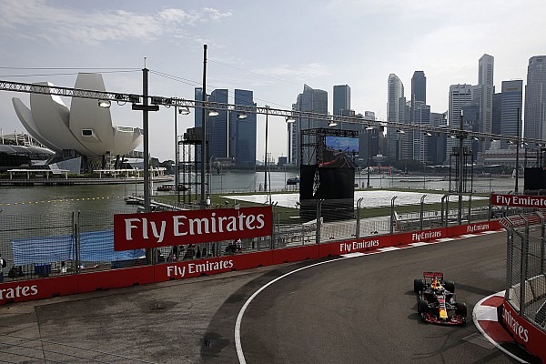 Formel 1 2017 in Singapur: Ergebnis, 1. Training