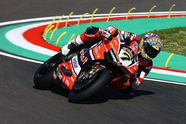 SBK İtalya: Kısaltılan 1. yarışı Davies kazandı