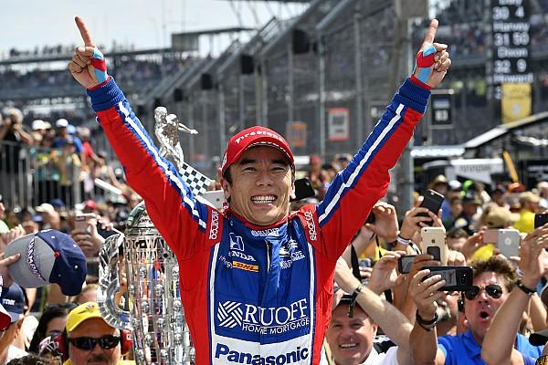 IndyCar Rennbericht Indy 500 2017: Takuma Sato siegt bei wildem Crash von Scott Dixon