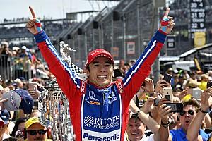Indy 500: Sato juara di balapan yang berat untuk Honda