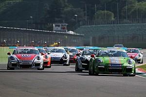 Carrera Cup Italia Gara Ad Imola sta per iniziare la seconda gara della Carrera Cup Italia