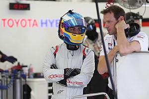 阿隆索首次测试2018年丰田LMP1赛车