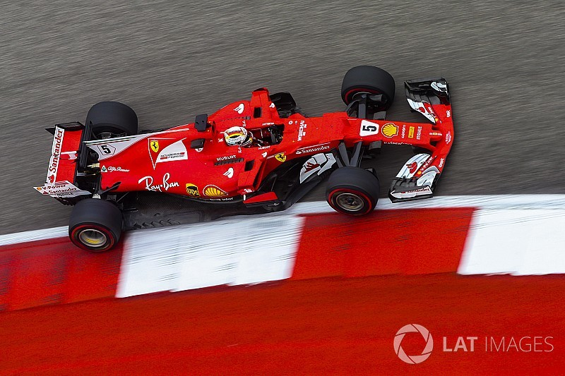 "Vettel laments ""messy"" second practice"