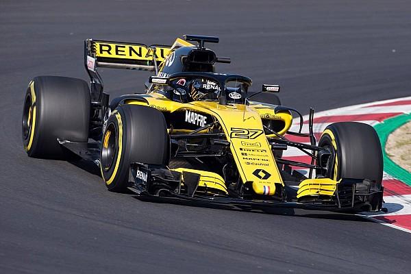 Formule 1 Actualités Premiers tours de roue pour la Renault R.S.18 à Barcelone