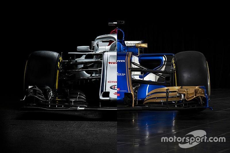 С Alfa Romeo и без. Сравнение новой и старой машин Sauber