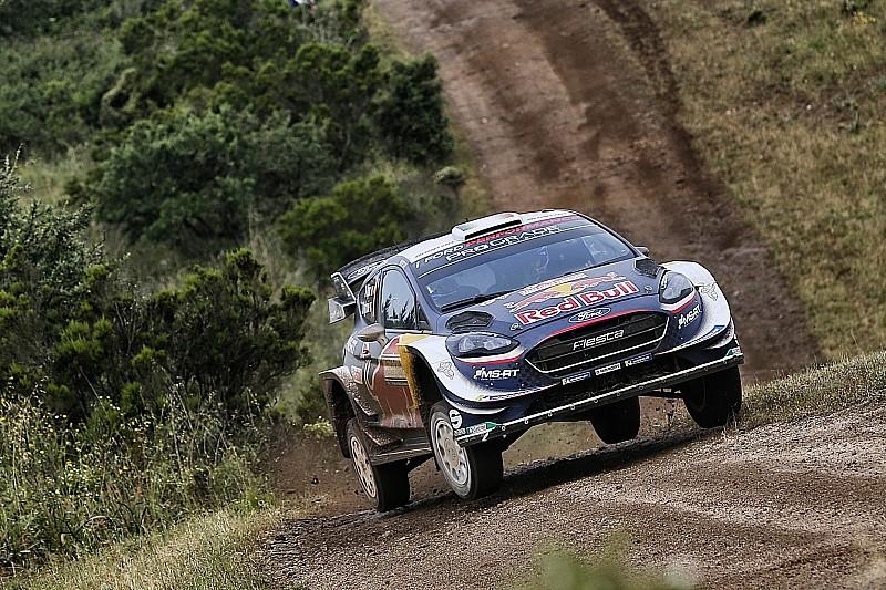 WRC в Італії: Ож'є втримався попереду Ньовілля після суботи