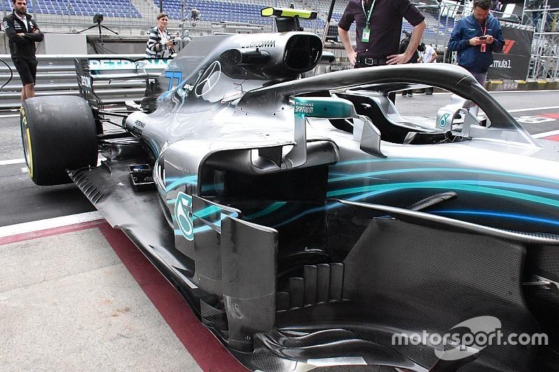 Mercedes unleashes biggest F1 update in Austria