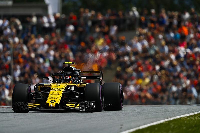 Renault'nun puan serisi Avusturya'da bitti