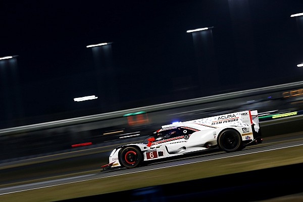 Daytona mi-course - Les deux Acura Penske en tête