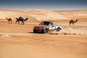 كروس كاونتري تقرير المرحلة رالي أبوظبي الصحراوي: بروكوب وكوينتانيلا يقتربان من التتويج