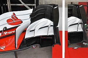 Formula 1 Analisi Ferrari: anche Kimi sceglie sulla SF71H l'ala più recente di Vettel