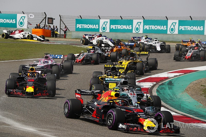 The template for great F1 racing in 2021