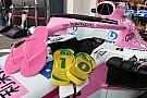 Formula 1 Halo Force India disponsori sandal jepit Havaianas