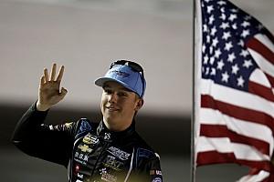 NASCAR Truck Interview Teenaged phenomenon Nemechek heads Truck points into Kansas