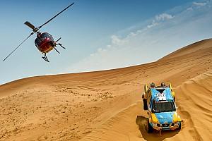 Cross-Country Rally Reporte de la carrera Ma Hailong gana el primer Dakar Series Rally de China