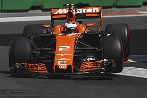 Formule 1 Nieuws Vandoorne na moeizame vrijdag: