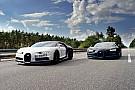 Auto Une Bugatti Chiron filmée à 400 km/h par... une Chiron!