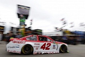 NASCAR Cup Practice report Larson tops second practice at NHMS over Blaney and Truex