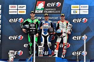 CIV Supersport Gara Gabellini leader con una vittoria ed un secondo posto a Misano