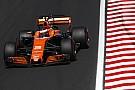 F1 Honda sigue actualizando su motor y Vandoorne saldrá último