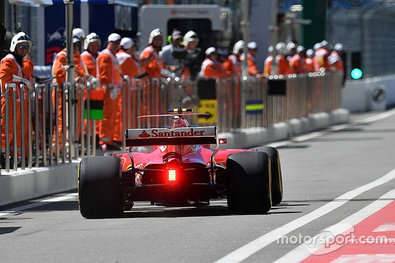 【F1】ベッテルとライコネン、FP1で3基目のターボ投入