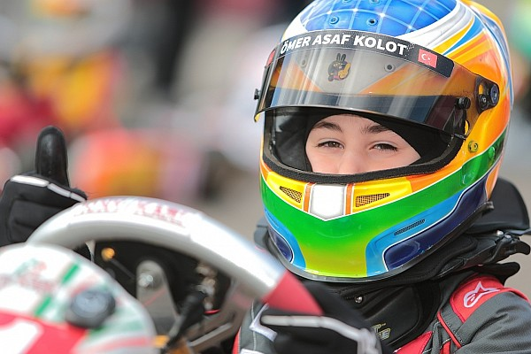 Kart Yarış raporu Karting'deki tek temsilcimiz: Ömer Asaf Kolot