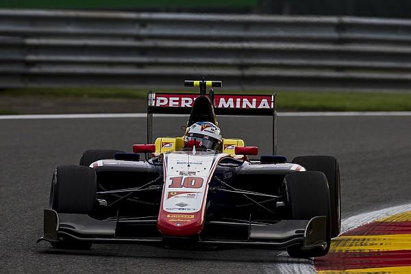 Алези выиграл вторую гонку GP3 в Спа