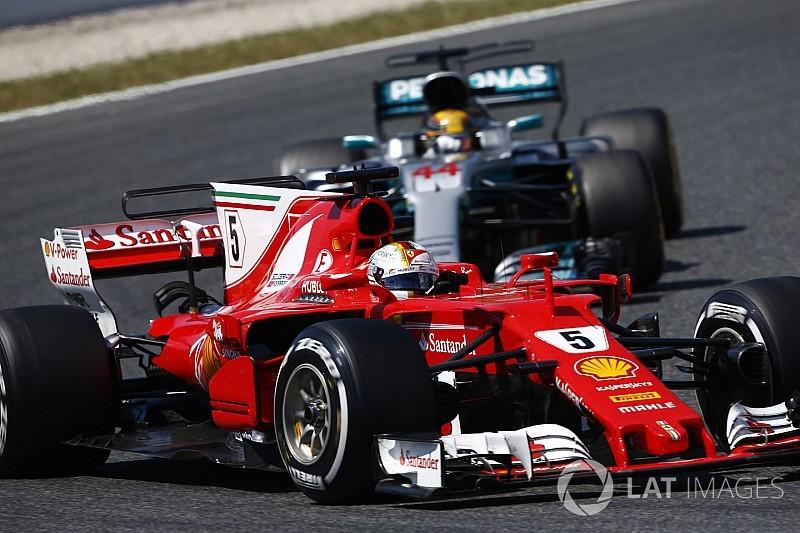 """Hamilton : Une bataille """"physique, mentale, technique"""" avec Vettel"""