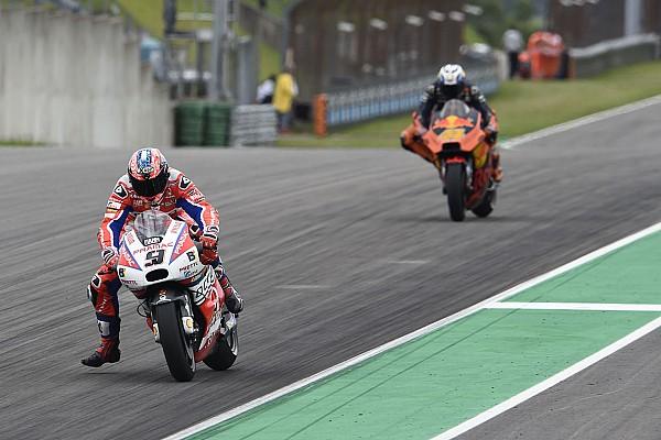 MotoGP La bonne série de Petrucci a connu un coup d'arrêt en Allemagne