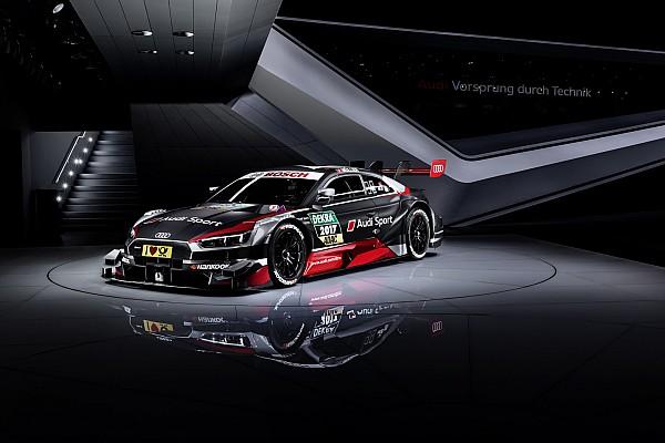 Audi reveló su nuevo coche para el DTM 2017