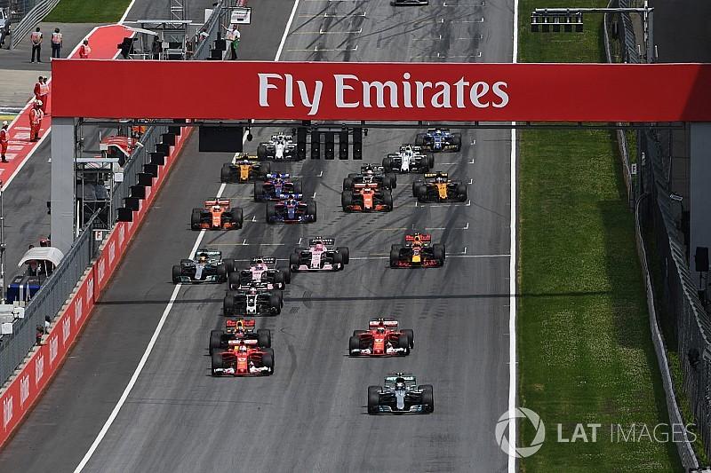 La FIA ajusta las reglas sobre las salidas en falso para 2018