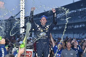 NASCAR Cup Commentary Facing an uncertain future, Kahne makes big statement with Indy win