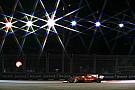 بالصور: ترتيب شبكة انطلاق سباق جائزة سنغافورة الكبرى