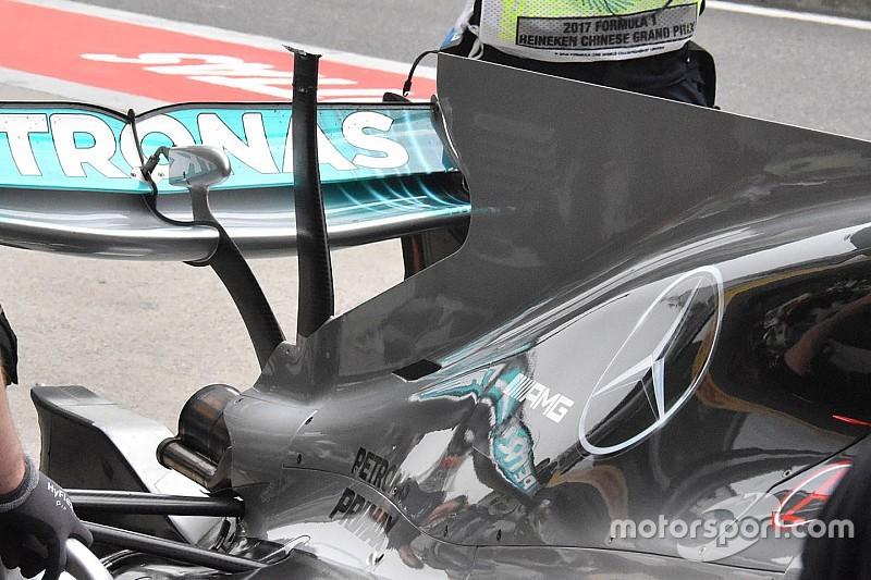 Mercedes doit prouver à la FIA la sûreté de son T-wing