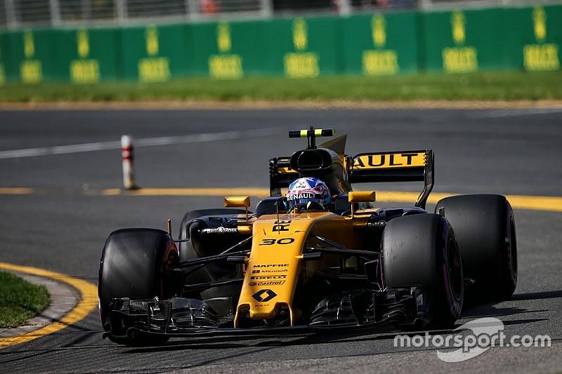 """Palmer dice que su Renault se comportaba """"terrible"""""""