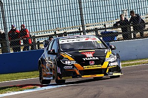 BTCC Race report Donington BTCC: Shedden takes provisional Race 3 win
