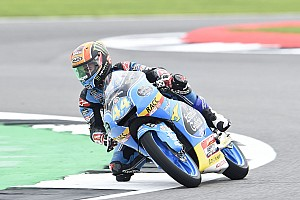 Moto3 Race report Silverstone Moto3: Canet wins red-flagged race