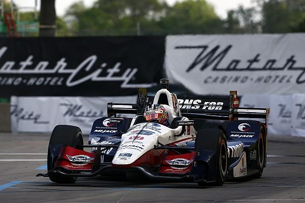 IndyCar Рейхол одержал вторую подряд победу в Детройте, Алешин 16-й
