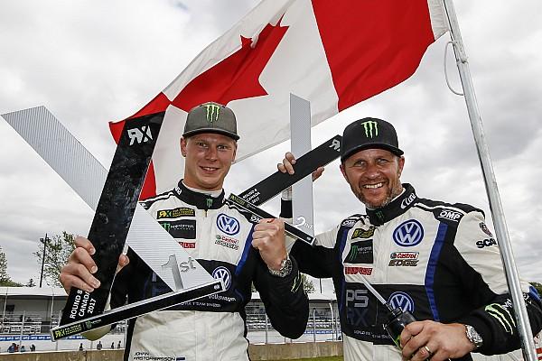 World Rallycross Canada WRX: Kristoffersson scores third straight win